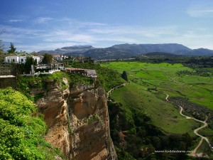 View of the Valley, Ronda, Spain